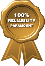 100% reliability paramount